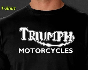 b78bfe85 Triumph Motorcycles T-Shirt Vintage British Motorcycles Biker S-6XL