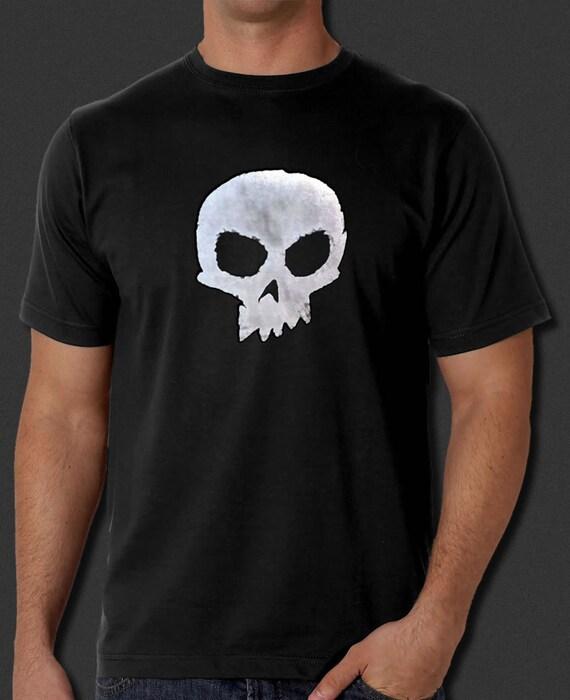 Toy Story Sid Skull Black T Shirt Halloween Buzz Lightyear Etsy