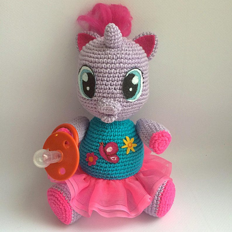 Lily By My Little Pony Pdf Crochet Pattern Instant Download Etsy