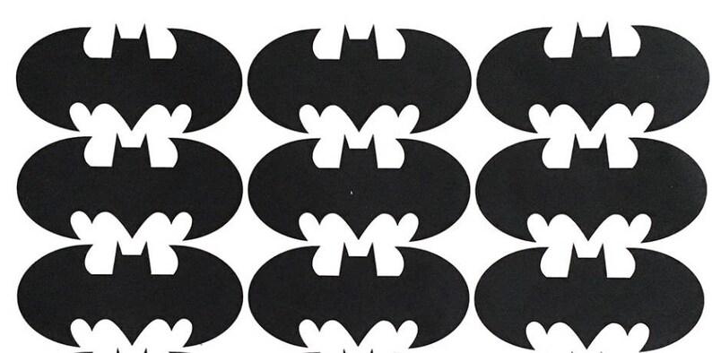 Batman Aufkleber Vinyl Dichtungen Dc Comic Helden Wandaufkleber Kids Party Dekoration