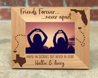 Best Friend Picture Frame Etsy