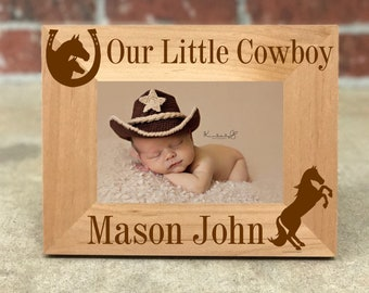 87e6cdc0a58 Personalized baby picture frame