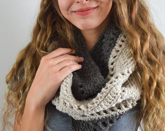 READY TO SHIP   The Annie Cowl   Knitted Cowl   Knitted Scarf