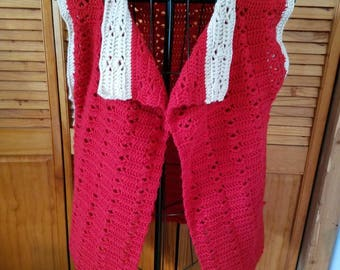 Crochet Sweater Cardigan