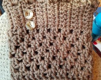 Crochet Booth Cuffs