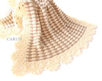 Baby blanket  Crochet baby blanket Baby blanket Christening Baby blanket Baby wrap blanket