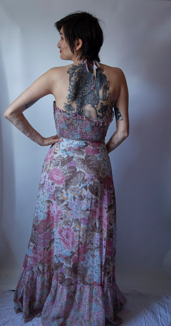 1970's Gunne Sax style maxi dress - image 3