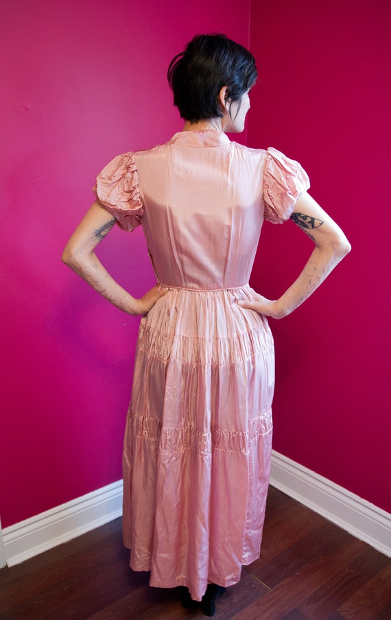 1930's/40's formal gown - image 3