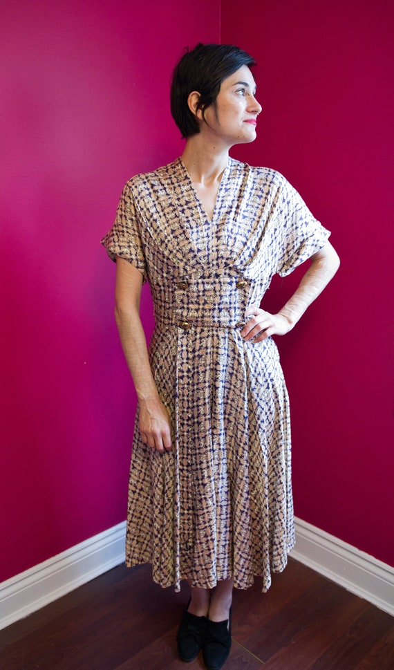 Beautiful homemade 50's day dress