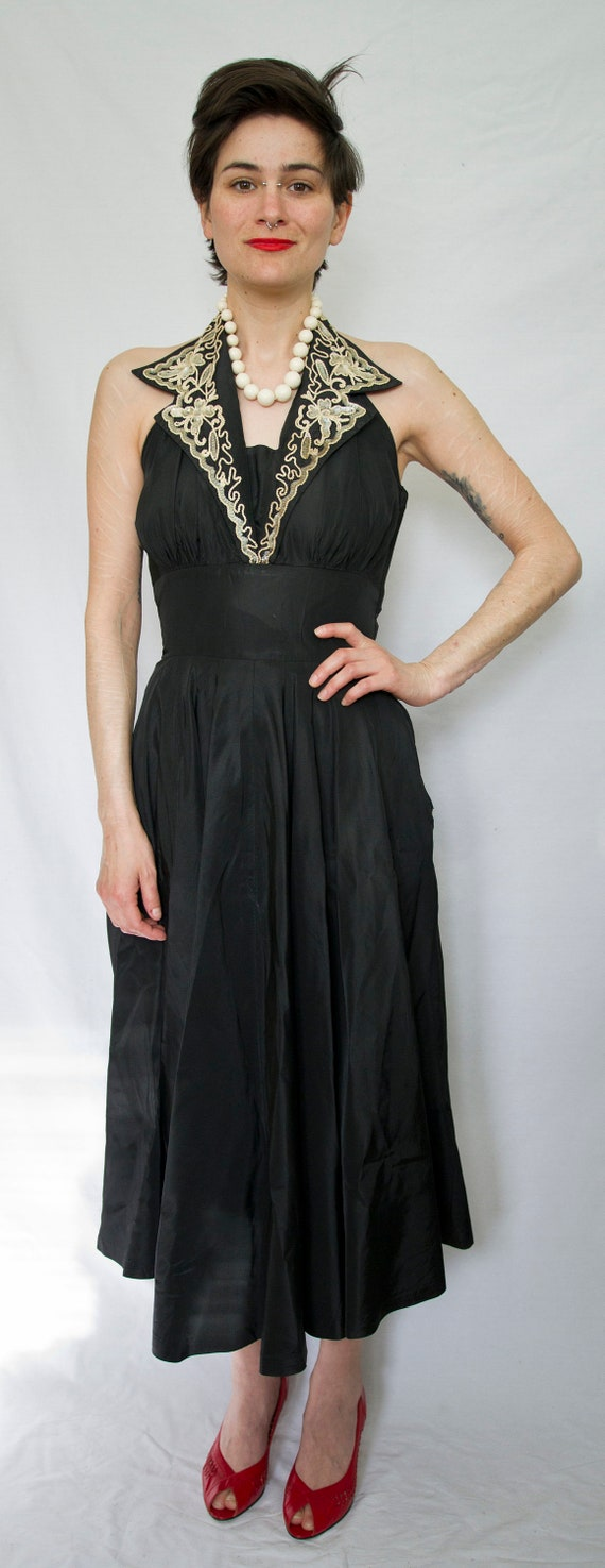 Elegant 50's evening dress