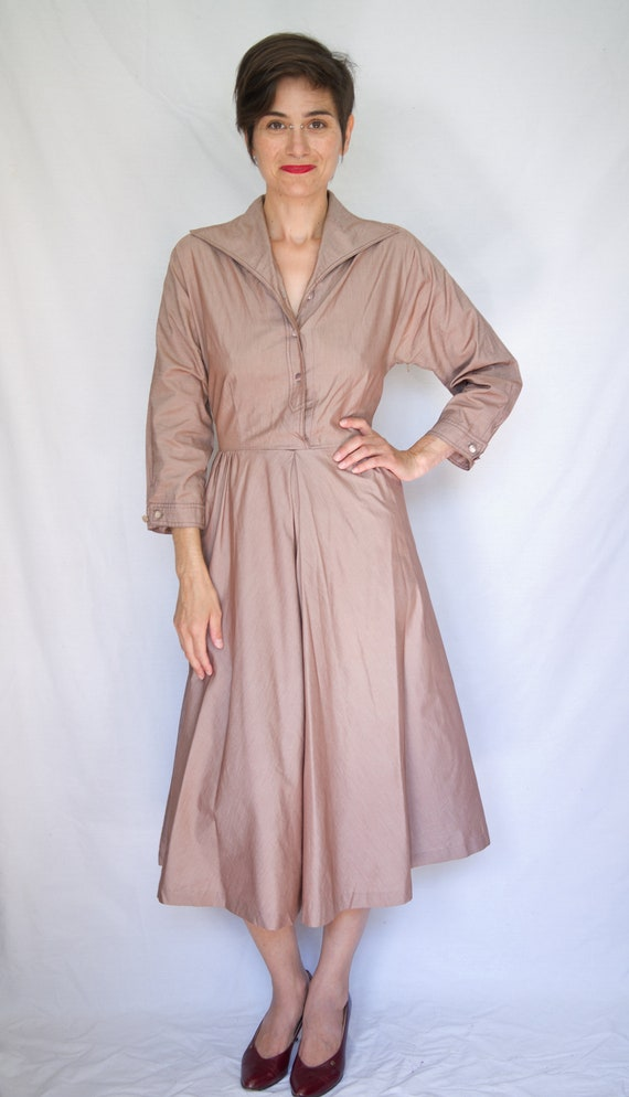 1950's swing/shirt dress