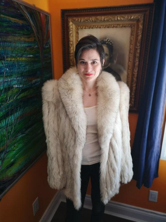 1970's fox fur coat
