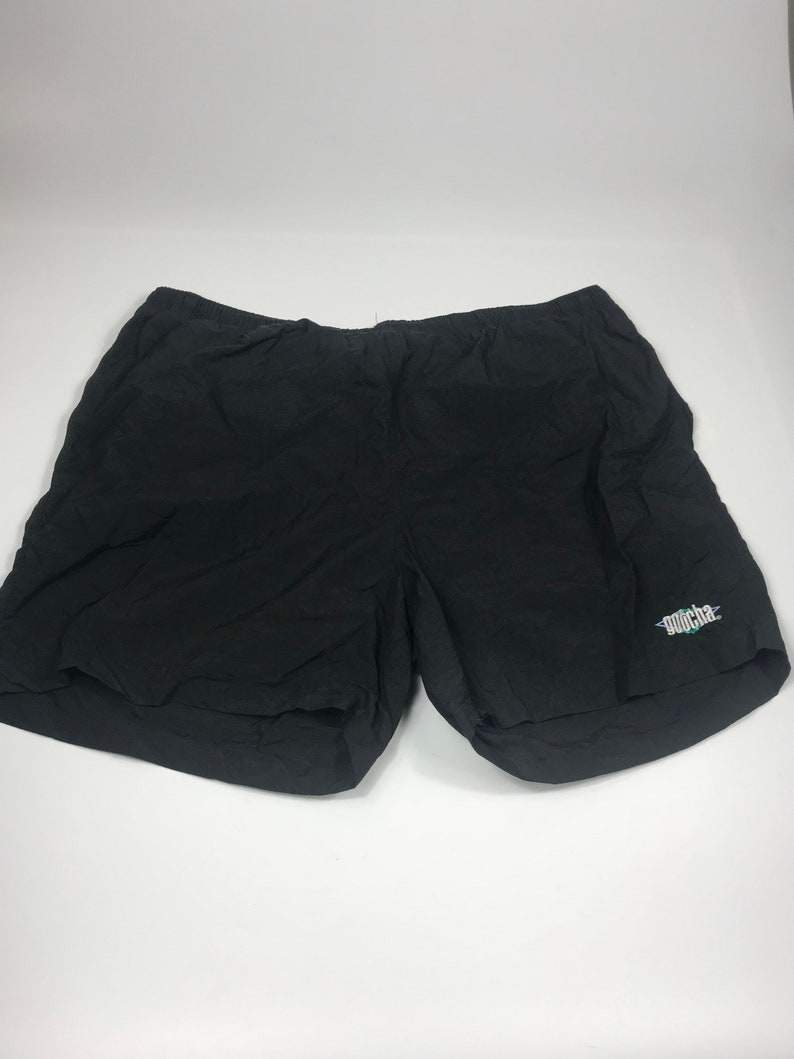 ec33d6acb4 Gotcha Vintage Mens Black Surf Swim Shorts Trunks Size XL | Etsy