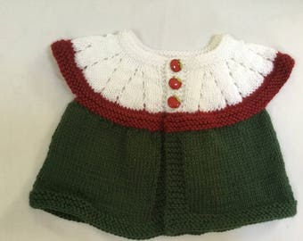 Free Shipping! An apple sweater for baby