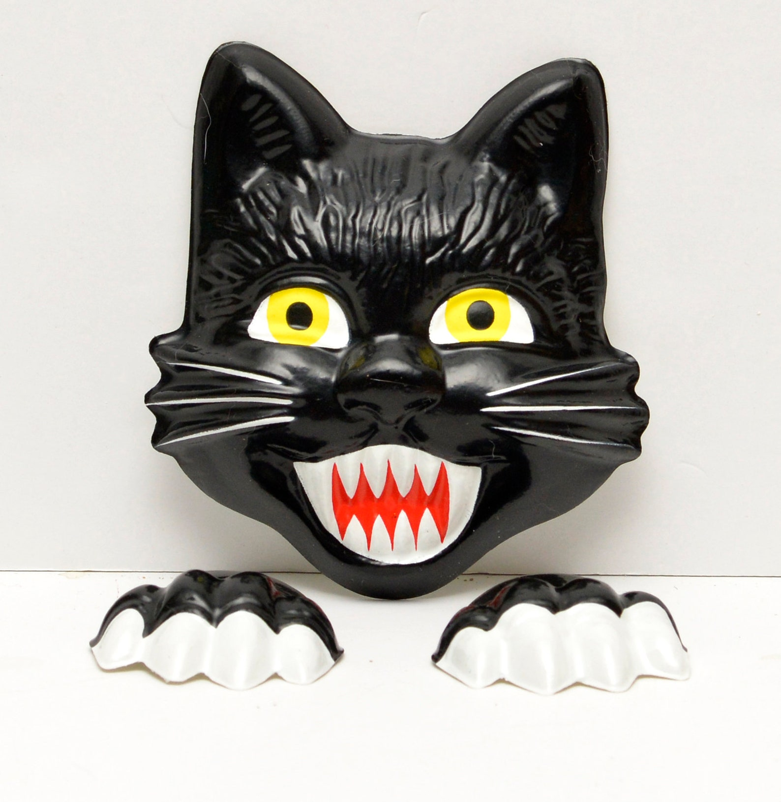 Halloween Cat Cake Toppers