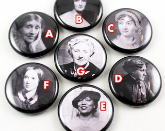 Selected Poems Literary 1 inch Pinback Button