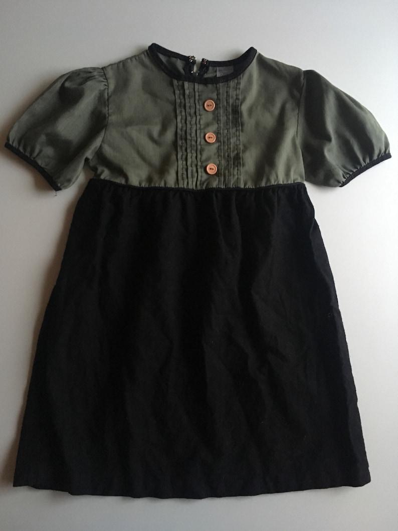 50s vintage Sears dress size 5/6 image 0