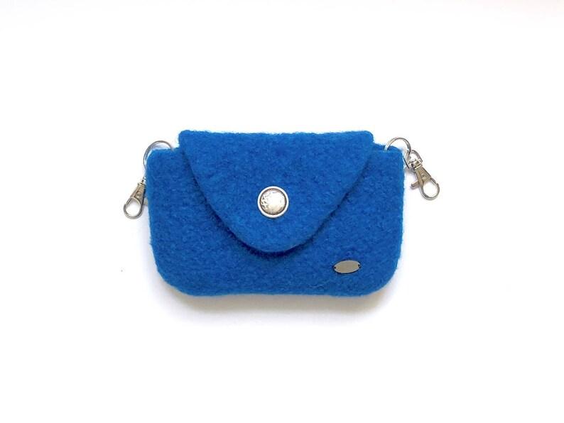 807555e74 Equestrian belt bag royal blue waist bag for your cell phone | Etsy