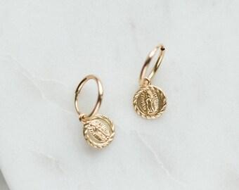 2bb3c98293012 Simple gold earrings | Etsy