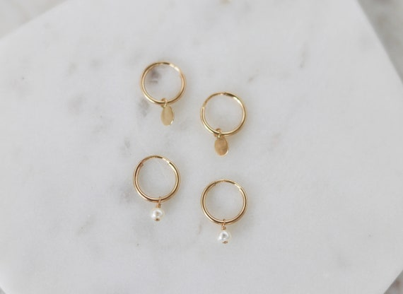 Tiny Hoop Earrings   Gold Hoop Earrings   Mini Hoop Earrings   Cartilage Hoop   Small Hoop Earrings   Gold Tiny Hoop   Christmas Gift by Etsy