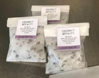 Natural Bath Salts- Lavender