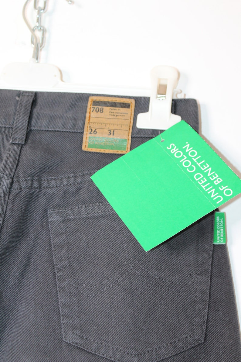 Benetton High Waisted Pants Vintage Deadstock Sz 2631