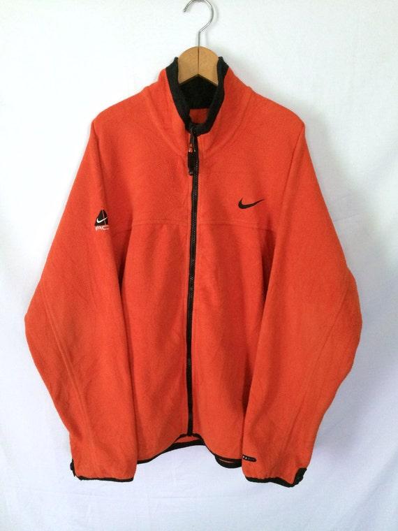 Nike Fleece Zip Up Jacket / MEN / MEDIUM / Oversiz
