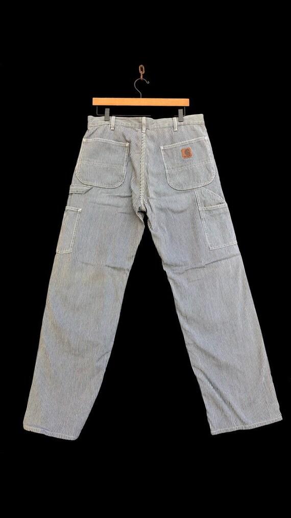Vintage Carhartt Pant Striped Workwear