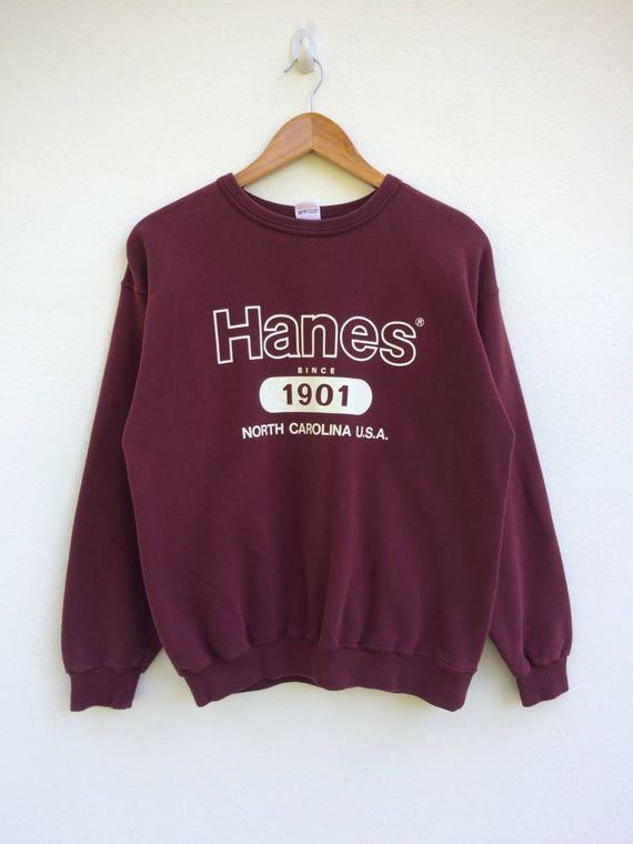 Vintage Hanes Sweatshirt / WOMENS / MEDIUM / Hanes