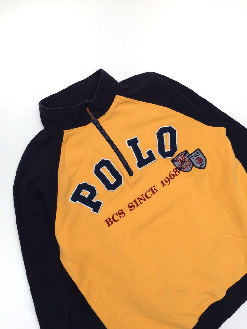 Vintage Polo British Country Spirit Sweatshirt  MEDIUM  WOMEN  Vintage Sweatshirt  Casual  Retro