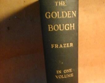 1925 The GOLDEN BOUGH  Abridged Edition