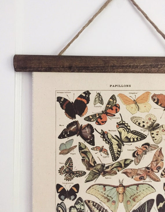 Vintage Art Print Poster Butterfly Wall Hangings Tapesty