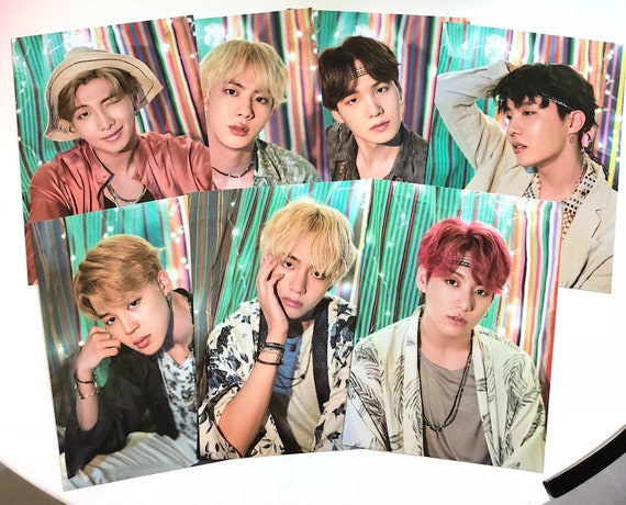 bts 2018 summer package mini posters official etsy