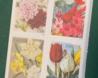 Botanical Art - Pane of 20 stamps