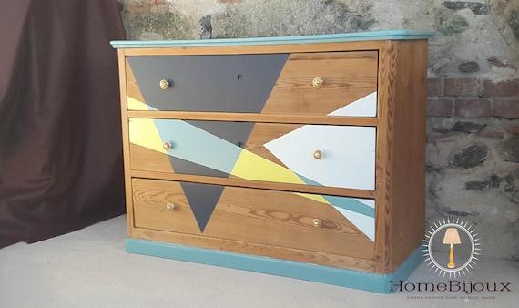 COMO \' COLORI DESIGN. Como triangle colors. Como legno. | Etsy