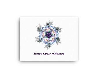 CSP Sacred Circle of Heaven Framed photo paper poster