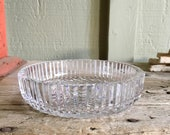 Waterford Crystal Shallow Bowl Wine Bottle Coaster Champagne Holder Colleen Short Stem Candy Dish Bonbon Dish Lead Crystal