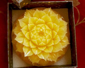 Mandala carving soap etsy