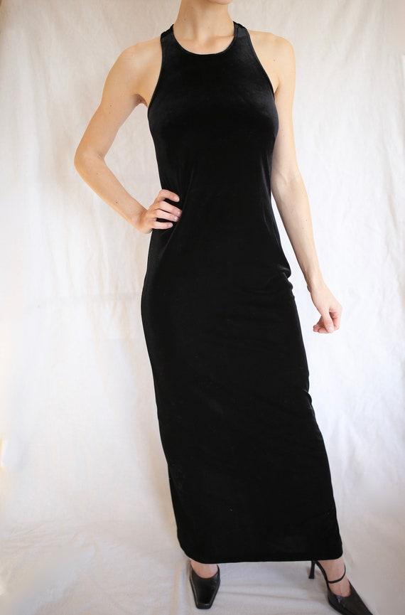 Velvet Evening Gown