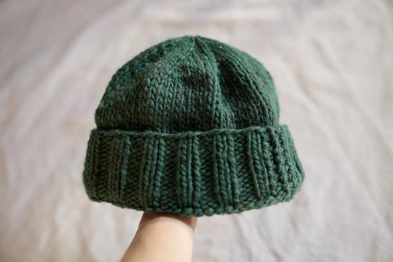 Chunky Hand-Knit Beanie