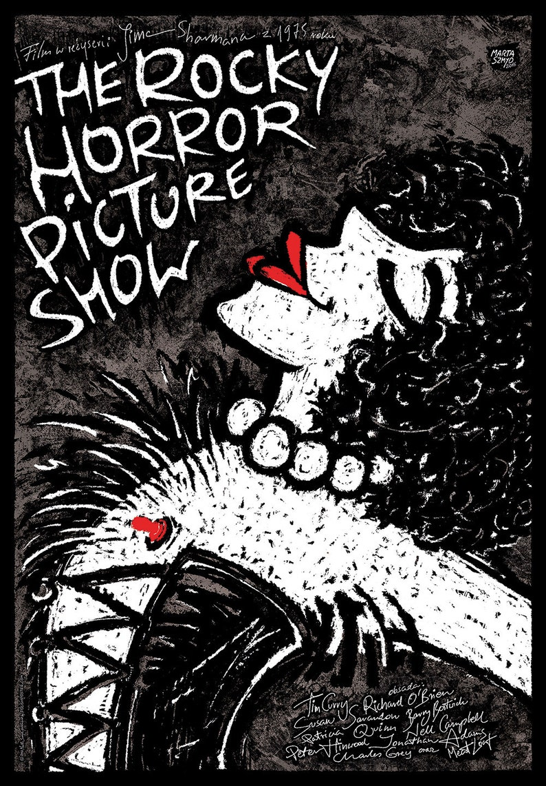 The Rocky Horror Picture Show offset art polish poster image 0