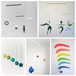 Set of 5 x montessori mobile - Munari, Gobbi, Dancers, Octahedron, Rainbow. Montessori mobile. Baby mobile. Hanging mobile.  Crib toy.