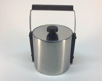 Cultura Sweden vintage stainless ice bucket