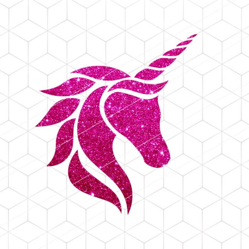 Unicorn Head SVG Unicorn Horn SVG Unicorn Horn Cut File Unicorn SVG T-shirt  Unicorn Design svg Pony Cutting Files for Cricut, Silhouette