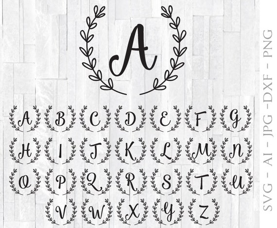 image about Printable Monogram Stencil referred to as Monogram Letter Deal Clipart Vector, Calligraphy Font Stamp Layout, Wedding day Stencil Picket Signs and symptoms, SVG Offer Monogram Letter, Printable Font
