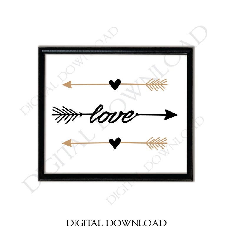 photo relating to Printable Arrow Stencil known as Appreciate Arrow SVG, Printable Wall Artwork, Boho Stylish Household Decor, DXF Laser Reducing Document, SVG Clipart for Cricut, Png Stencil Quotation, Blouse Style