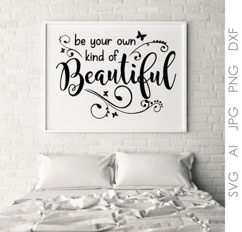 image relating to Printable Sayings known as Drive Bed room Decor Printable Offers, Sayings towards Print, Vinyl Design and style Vector Artwork, Personal Form Desirable Estimate, Indication Stencil Clipart Quotation