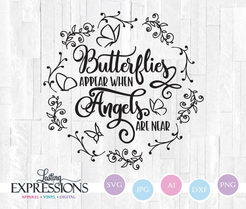 Butterfly Quote Svg For Cricut Silhouette Craft Design Etsy