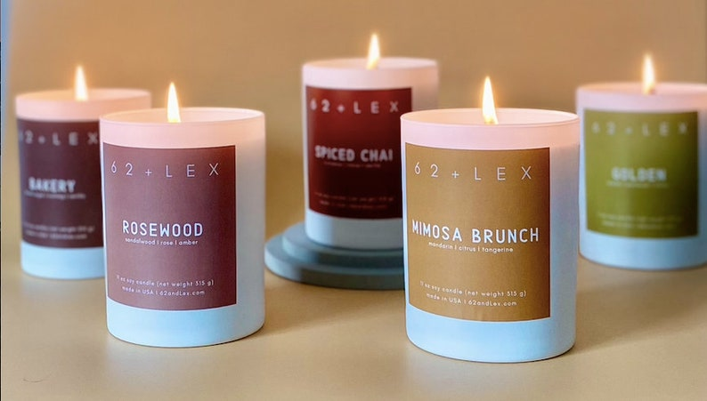 Mimosa Brunch Candlegift for hermimosa barmimosa giftspringCandleBest Seller Gift 62 and Lex  Brunch Spring Candle Cheers bubbly