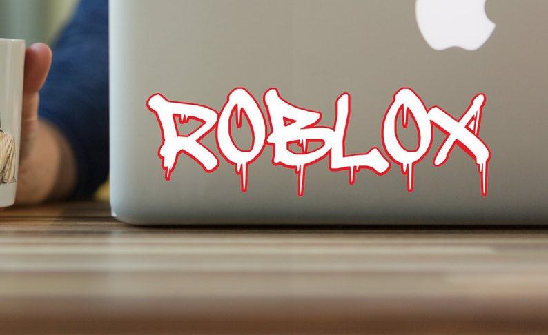 Unofficial ROBLOX grafitti sticker  x2